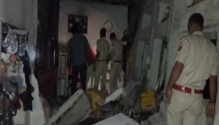Chittorgarh Samachar : तेज धमाके के बाद ढह गई मकान की छत, 3 लोगों की दर्दनाक मौत