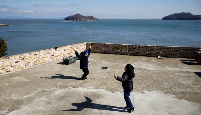 Nokdo Island: The last children on an ageing South Korean island