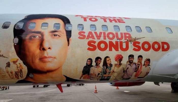 ਪੰਜਾਬ ਦੇ ਪੁੱਤਰ Sonu Sood ਨੂੰ ਇਸ Airlines ਨੇ ਖ਼ਾਸ ਤਰੀਕੇ ਨਾਲ ਕੀਤੀ ਸਲਾਮ, Emotional ਸੋਨੂੰ ਨੇ ਕਹੀ ਇਹ ਗੱਲ਼