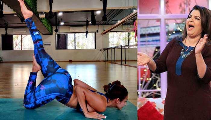 Malaika Arora ने योग स्टाइल ने किया नमस्ते, Farah Khan ने उड़ा दी खिल्ली