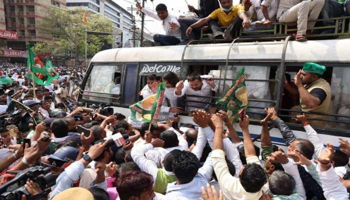 Bihar: RJD को प्रदर्शन करना पड़ा भारी! तेजस्वी-तेज प्रताप यादव समेत 3 हजार लोगों पर दर्ज हुई FIR