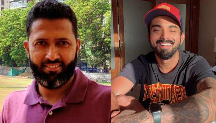 Hardik Pandya के बेटे Agastya को गोद में उठाने पर Wasim Jaffer ने लिए KL Rahul के मजे