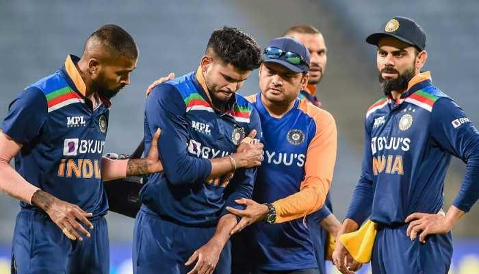 IPL 2021: दिल्ली कैपिटल्स को लगा बड़ा झटका, पूरे सीजन से बाहर हुए श्रेयस अय्यर
