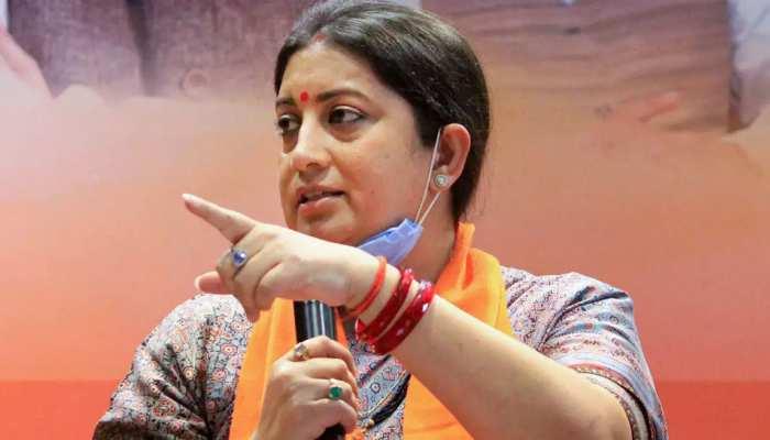 Tirath Singh Rawat के फटी जींस वाले बयान पर Smriti Irani ने दी प्रतिक्रिया, कहा- लोगों के कपड़ों से नेताओं का लेना-देना नहीं