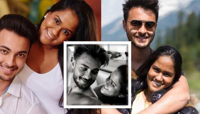 Ayush Sharma share romantic photos with wife Arpita Khan on instagram see photos