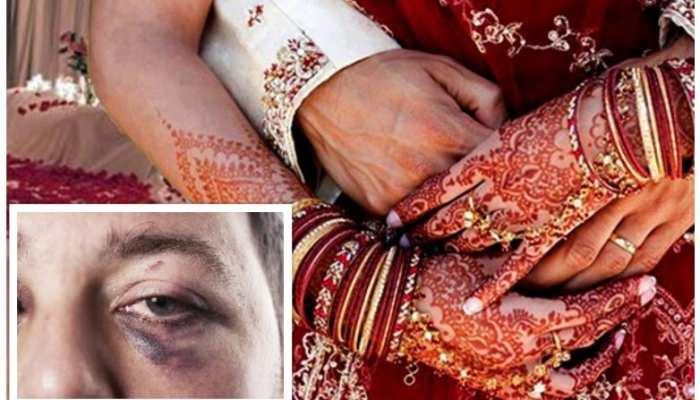 शादी की पहली रात दुल्हन ने दूल्हे को पीट कर किया बेहोश, कीमती सामान लेकर भागी