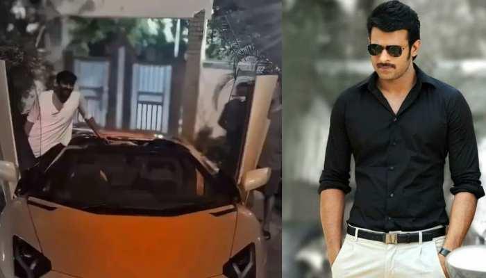 Prabhas ने खरीदी 6 करोड़ की Lamborghini! VIDEO में देखें कैसे की हवा से बातें