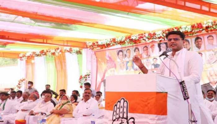 Rajasthan: उपचुनाव में जीत के लिए गहलोत-पायलट ने भरा दमखम, कहा-विजय देगी पार्टी की मजबूती का संदेश