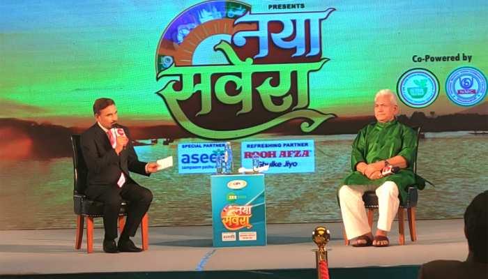 'नया सवेरा' कार्यक्रम में बोले LG मनोज सिन्हा- विकास पर है जोर, अगले तीन सालों में जम्मू कश्मीर में शुरू हो जाएगी मेट्रो