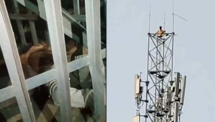 शराबी को चिढ़ाना पड़ा भारी, परेशान होकर टावर पर चढ़ा, गिरने से हो गई मौत