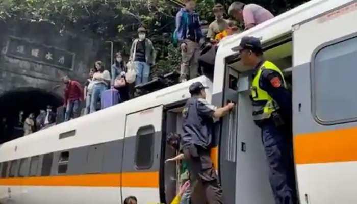 पूर्वी ताइवान में भीषण ट्रेन हादसा, 41 लोगों की मौत; दर्जनों यात्री घायल