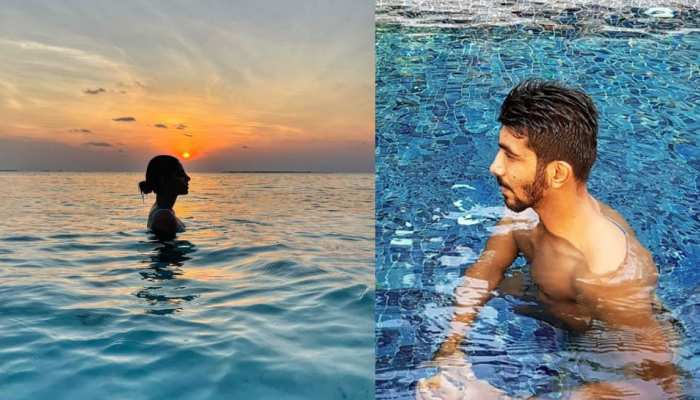 Sanjana Ganesan ने पोस्ट की Sunset Photo, Jasprit Bumrah को सूझी शरारत