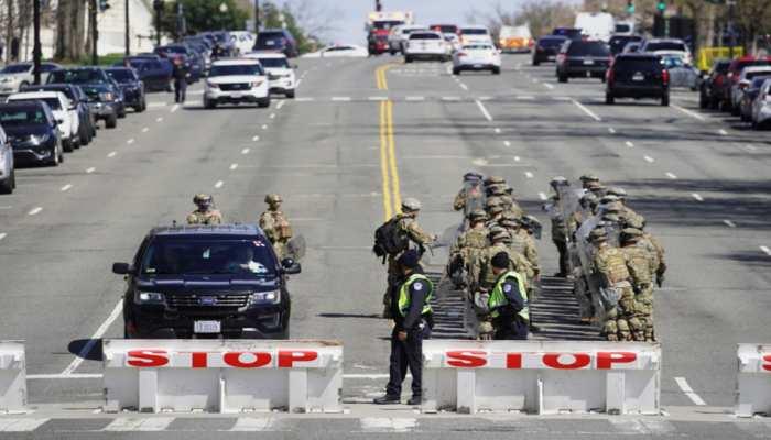 US Capitol Hill incident: हमले में घायल एक पुलिसकर्मी ने तोड़ा दम, संदिग्ध की भी मौत