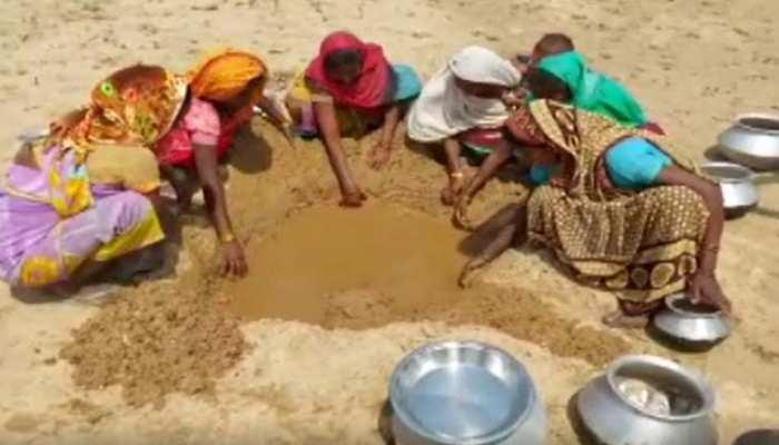 जल संकट: पानी की बूंद-बूंद को तरस रहे सूरजपुर के लोग, नदी भी सूखी