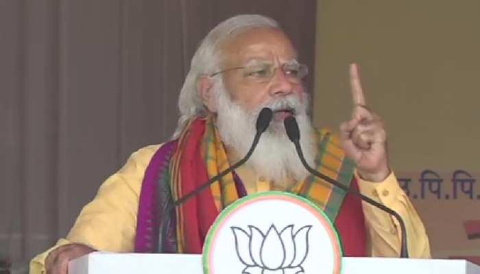 West Bengal Assembly Election 2021: हर चरण के साथ दीदी की बौखलाहट बढ़ेगी, बंगाल के लोगों ने संभाली परिवर्तन की कमान: PM मोदी