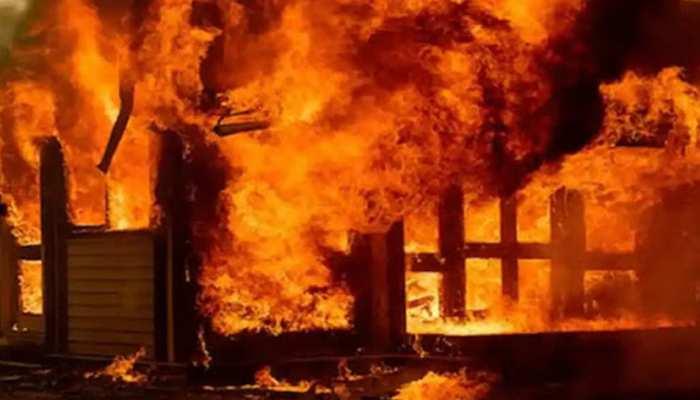 नशे की हालत में शख्स ने ससुराल में लगाई आग, पत्नी समेत 6 की जलकर मौत