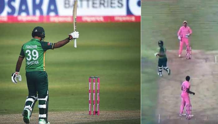 ऐसा क्या हुआ पाकिस्तानी बल्लेबाज के साथ जिसकी चर्चा भारत में भी होने लगी, देखिए VIDEO