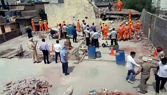 Punjab में फैक्ट्री की छत गिरने से 4 की मौत, 9 घायल, CM ने किया मुआवजे का ऐलान