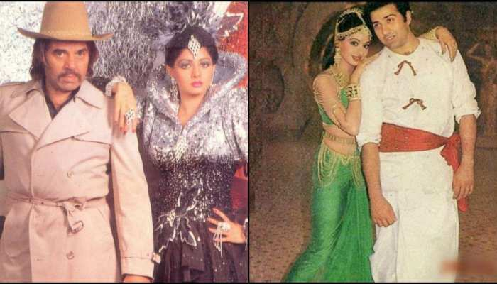 bollywood actress like Sridevi and hema malini who romanced both father and son on screen