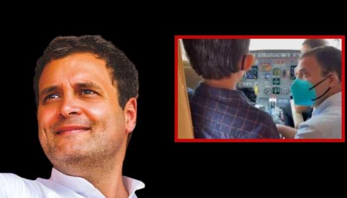 राहुल गांधी ने पूरा किया 9 साल के बच्चे का सपना, वायरल हुआ वीडियो
