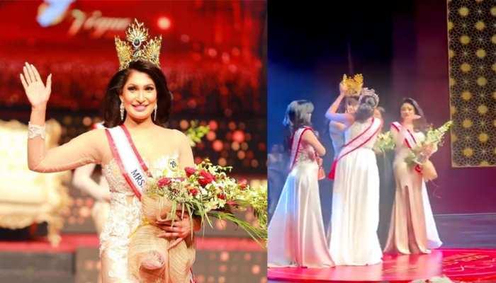 Sri Lanka: Mrs World strips Mrs Sri Lanka winner of crown over divorce claim