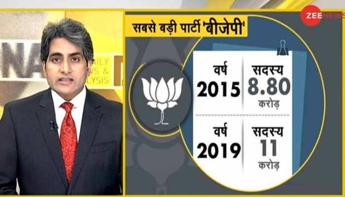 DNA ANALYSIS: BJP की स्थापना के 41 साल, जानिए 2 से 303 सीटों तक की अद्भुत राजनीतिक यात्रा की कहानी