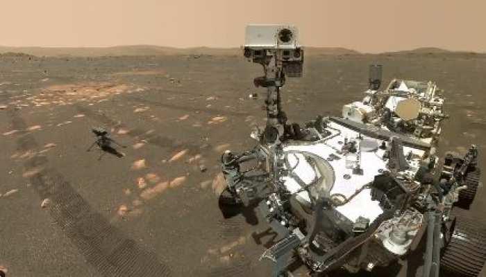 मंगल ग्रह पर सोमवार को उड़ान भर सकता है NASA का Ingenuity हेलिकॉप्टर