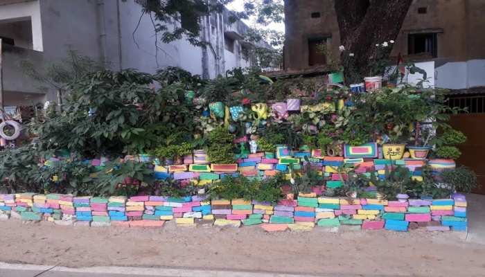 Ranchi Teacher special innovation of saving environment in a beautiful way See pictures