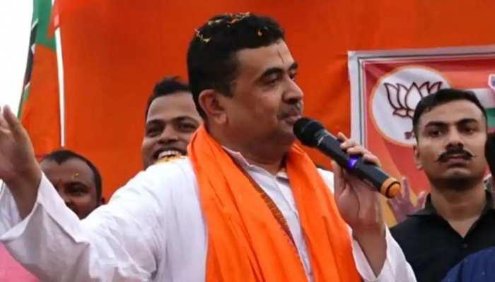 West Bengal Election: भाषण में सांप्रदायिक हलजा एख्तियार करने पर फंसे शुभेंदु अधिकारी, EC ने उठाया ये कदम