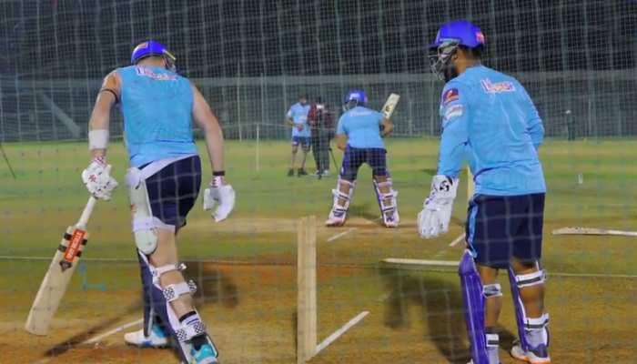 IPL 2021: Net Practice के दौरान Rishabh Pant ने की Sam Billings की Sledging