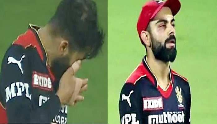 IPL 2021: पहले ही मैच में Virat Kohli के साथ हुआ हादसा, कैच के दौरान आंख के पास लगी चोट