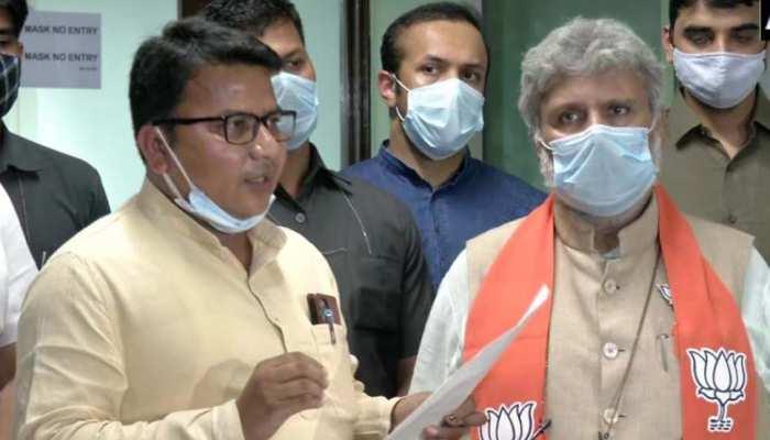कूचबिहार घटना पर बीजेपी वफद ने की EC से मुलाकात, ममता बनर्जी पर लगाया ये आरोप