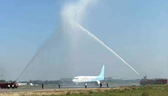 दरभंगा एयरपोर्ट पर यात्रियों के लिए और बेहतर करें सुविधा: नीतीश कुमार