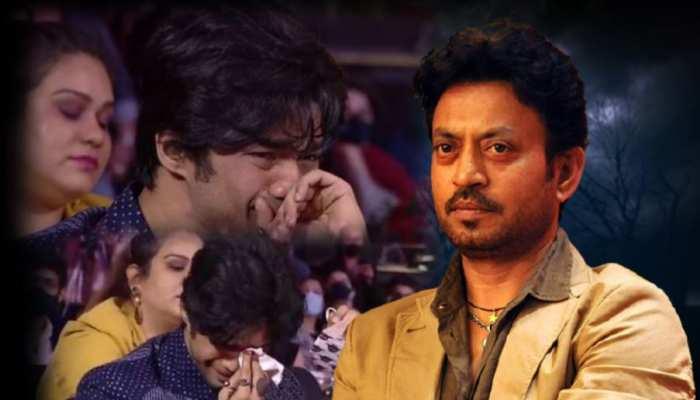 VIDEO: जब अवॉर्ड शो में गूंजा इरफान खान का नाम, फूट-फूटकर रो पड़े बेटे बाबिल