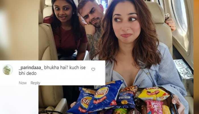 Tamannaah Bhatia की फोटो में नजर आए Virat Kohli? फैंस का चकराया सिर