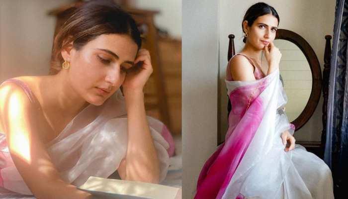 Fatima Sana Shaikh appeared in a sari, the beauty convincing fans