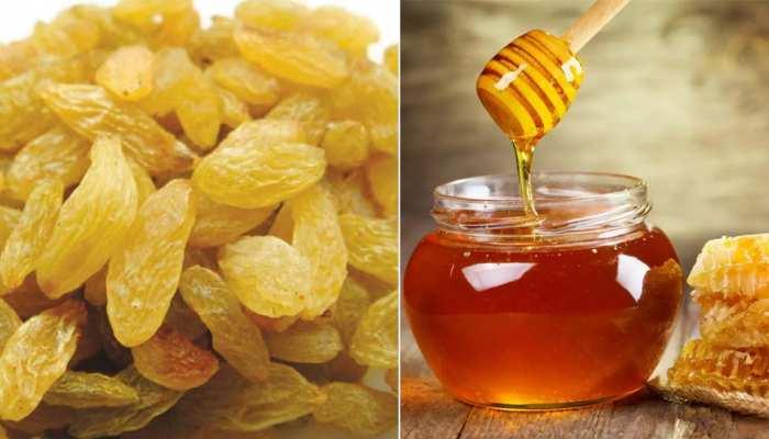 Raisins and Honey: किशमिश और शहद साथ खाने के हैं ढेरों फायदे, खून की कमी और कमजोरी होगी दूर