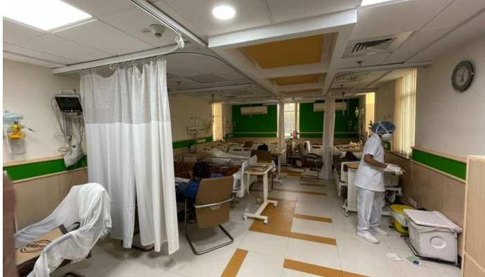 Delhi: इस अस्पताल में बच्चों के लिए अलग से बनाया गया कोविड वॉर्ड