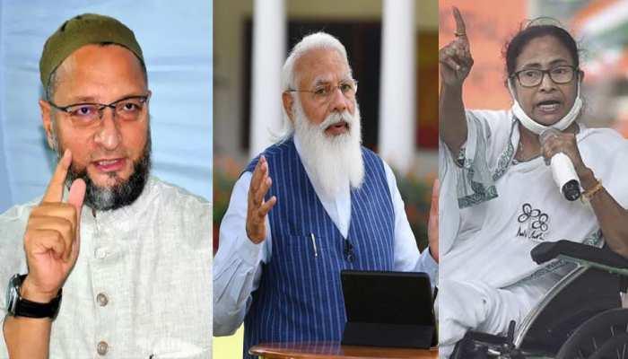 WB Election: असदुद्दीन ओवैसी ने पीएम मोदी और ममता बनर्जी को बताया भाई-बहन, कहा- दोनों एक ही सिक्के के दो पहलू