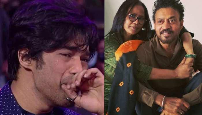 Irrfan Khan के बेटे Babil की रोने वाली फोटो हुई वायरल तो पत्नी Sutapa ने कहा- मेरा बेटा कड़क लौंडा है