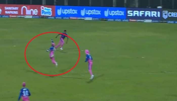 IPL 2021: हवा में उड़ कर Sanju Samson ने लपका Shikhar Dhawan का हैरतअंगेज कैच, Video देख आपके भी उड़ जाएंगे होश