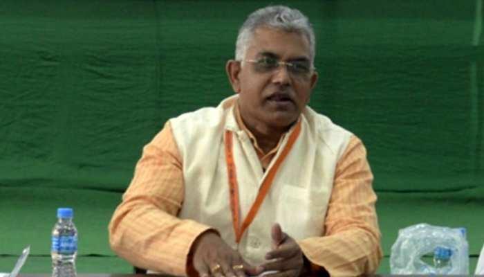 West Bengal: बीजेपी अध्यक्ष Dilip Ghosh के चुनाव प्रचार पर EC ने लगाया 24 घंटे का बैन