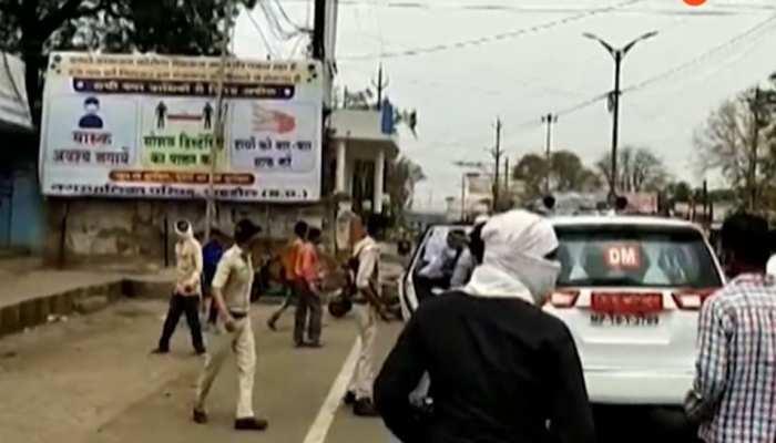 MP के इस जिले में सब्जी व्यापारियों ने मचाया हंगामा, SI पर लगाया मारपीट करने का आरोप