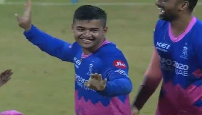 IPL 2021: Rishabh Pant को रनआउट कर बीच मैदान में नाचने लगे Riyan Prag, देखिए Viral Video