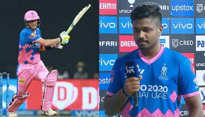 IPL 2021 DC vs RR: Sanju Samson बोले,  'मैं अंदर बैठकर दुआ कर रहा था कि मौरिस तुम एक छक्का और मार दो'