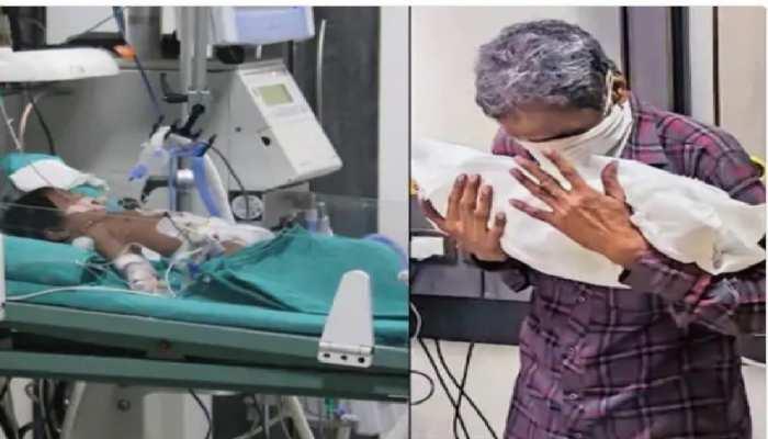 Surat: 14 दिन की बच्ची की कोरोना से मौत, प्लाज्मा डोनेट कर भी नहीं बचाई जा सकी जान