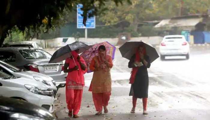 दिल्ली के साथ ही नोएडा-गाजियाबाद में बारिश, सामने आया मौसम का पूर्वानुमान