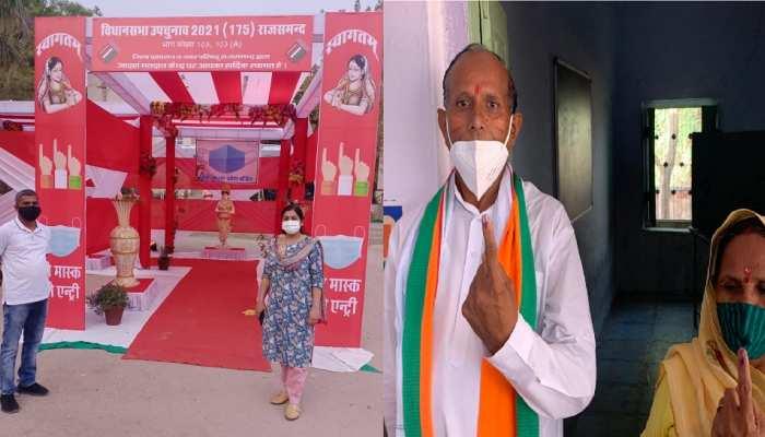 Rajasthan ByPolls 2021 के लिए वोटिंग जारी, कई दिग्गजों की किस्मत दांव पर