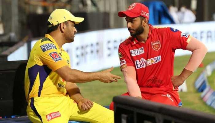 IPL 2021 CSK vs PBKS: मैच के बाद MS Dhoni ने Shahrukh Khan को दिए टिप्स, Photo हुआ Viral