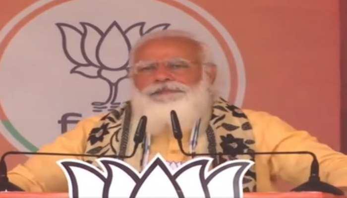 आसनसोल में गरजे PM मोदी, कहा- अब तक के मतदान में खंड-खंड हुई TMC